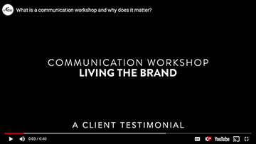 Communication Workshop - Living The Brand