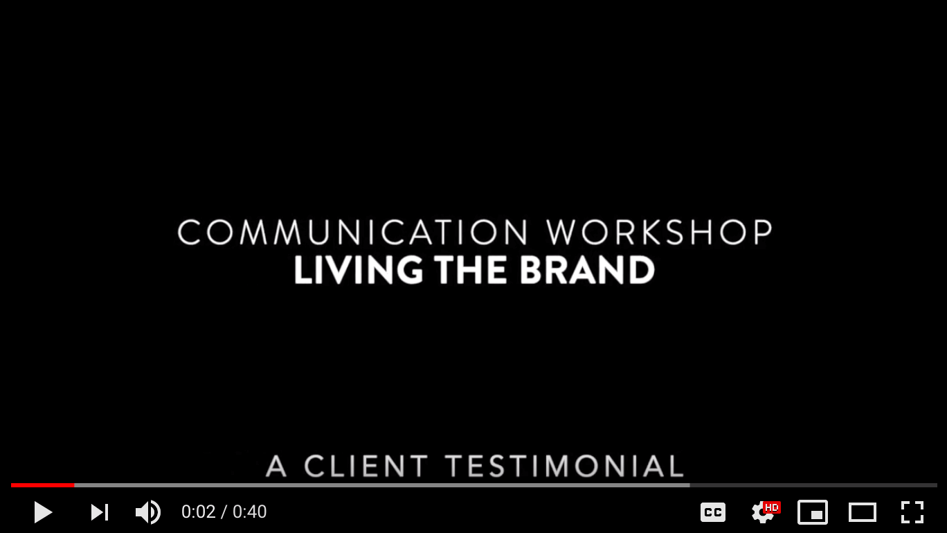 living the brand workshop